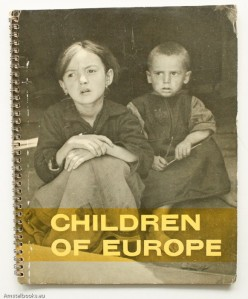Children of Europe, Paris, France: UNESCO, 1949.