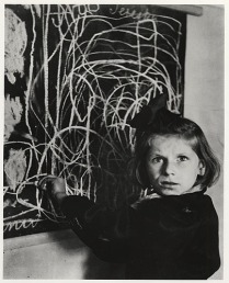 A Disturbed Child in a Warsaw Orphanage, 1948.