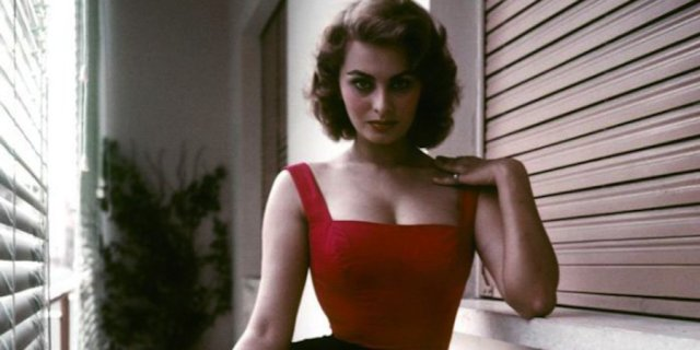 "David Seymour's ""Rome. 1955. Sophia Loren"" (1955)"